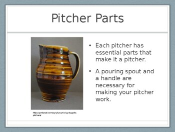 Clay Pitchers Presentation