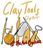 Clay Pottery Tool Art Room CLIP ART