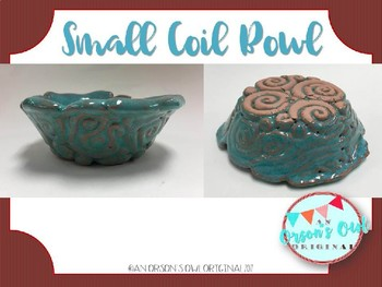 Clay Project: Small Coil Bowl