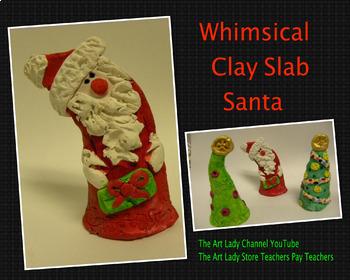 Clay Slab Santa