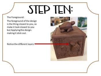 Clay: Slab box & decorating techniques