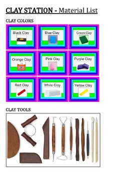 Clay Station Catalogue Bundle