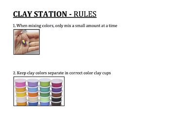 Clay Station Rules