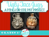 Clay: Ugly Face Jugs art project