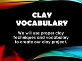 Clay Vocabulary Power Point and .pdf