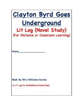 Clayton Byrd Goes Underground LIt Log
