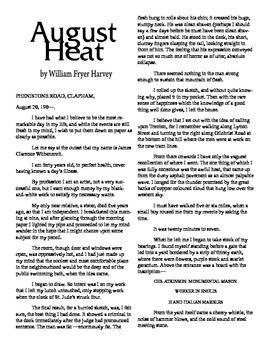 Clean Copy - August Heat