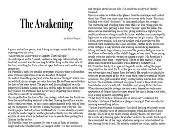 Clean Copy - The Awakening
