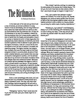 Clean Copy - The Birthmark