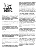 Clean Copy - The Happy Prince