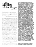 Clean Copy - The Murders in the Rue Morgue
