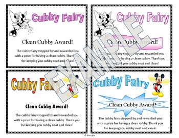 Clean Cubby Awards