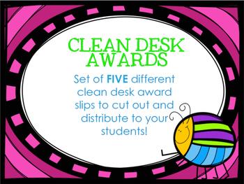 Clean Desk Award