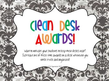 Clean Desk Awards