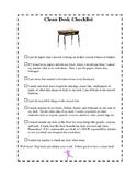 Clean Desk Checklist
