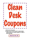 Clean Desk Coupons