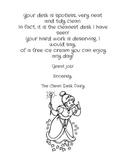 Clean Desk Fairy