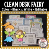 Clean Desk Fairy