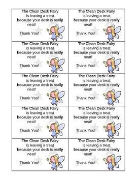 Clean Desk Fairy Awards