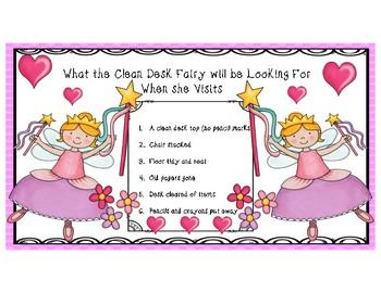 Clean Desk Fairy Awards & Chart