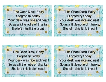 Clean Desk Fairy Coupon