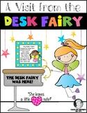 Clean Desks {Fairy Note} Class Management for Kindergarten