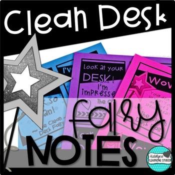 Clean Desk Fairy Notes