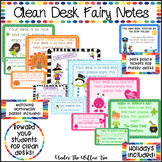 Clean Desk Fairy Notes - Holidays INCLUDED!