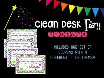 Clean Desk Fairy Reward