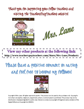 Clean Desk Fairy Reward Card for Students (Great Incentive!)