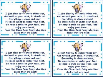 Clean Desk Fairy poem