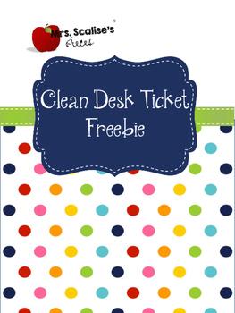 Clean Desk Freebie
