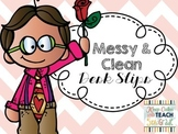 Clean Desk & Messy Desk Notes