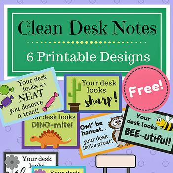 Clean Desk Notes