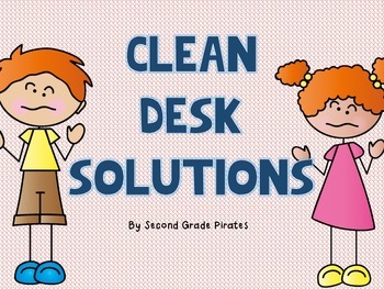 Clean Desk Solution- The Adventures of Messy Mike and Messy Millie