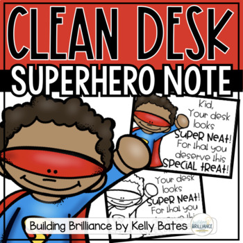 Clean Desk Superhero Notes