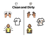 Clean & Dirty introductory non-fiction printable/story + 5