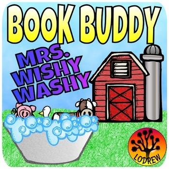 Mrs. Wishy Washy Centers Activities Book Companion Math Literacy Fine Motor