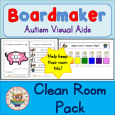 Clean Room Kit - Boardmaker Visual Aids for Autism SPED