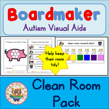 Clean Room Kit - Boardmaker Visual Aids for Autism
