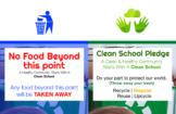 Clean School Posters