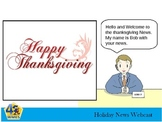 Clean Thanksgiving funny power point presentation