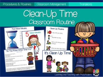 Clean UP Time Classroom Routine