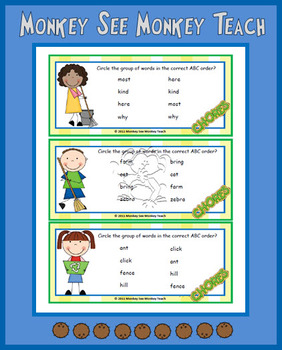 Clean Up ABC Word Order