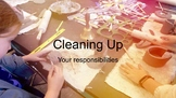 Clean Up! Clean Up - Clean up Procedures for Working with Clay