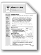 Clean-Up Day (Everyday Literacy)
