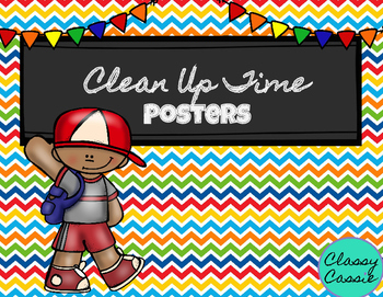 Clean Up Posters