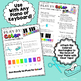 The Clean Up Song ~ A Piano for Preschool Color-Coded Song Sheet