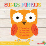 Clean Up Song for Kids