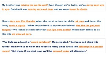 Clean Up Those Idioms
